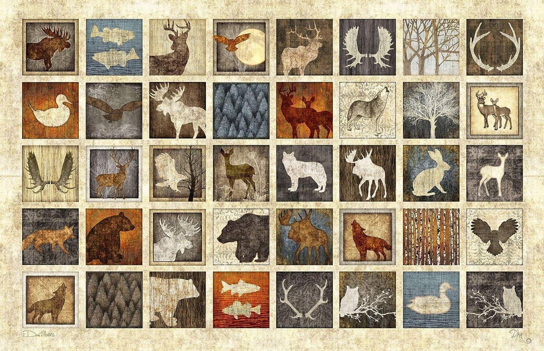 "Lodge Animal Tapestry by Dan Morris, 26\""x40\"" 91okc7wRlsL"