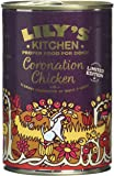 Lily's Kitchen Coronation Chicken Complete Wet Food for Dogs 400g (Pack of 6)