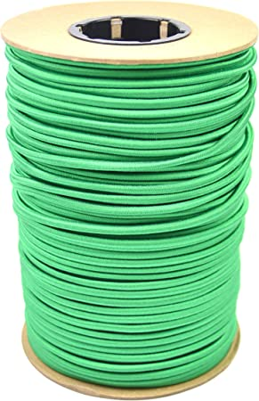 100 Feet Marine Masters 100ft 3//16 Inch Green Bungee Shock Cord