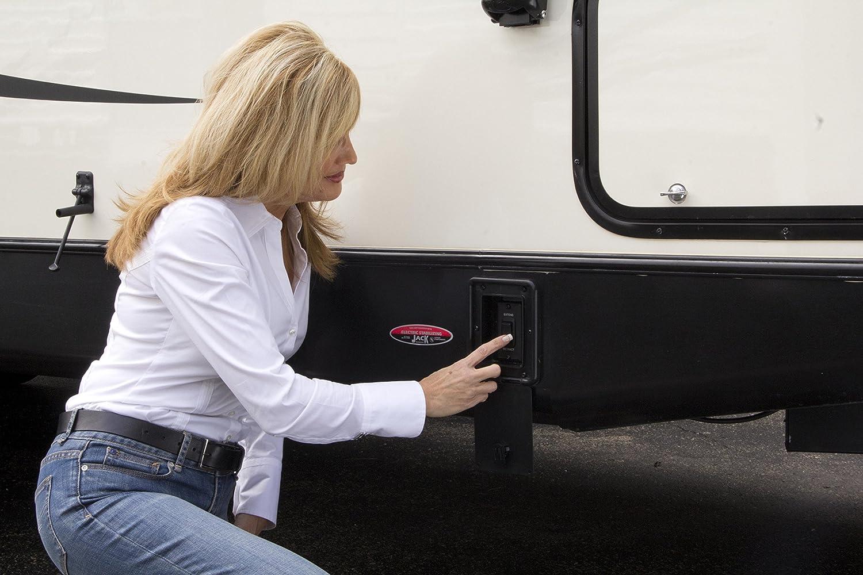 Amazon.com: Lippert 298707 Electric Stabilizer Jack Kit with Black