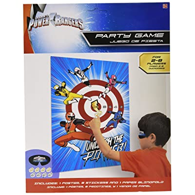 Power Rangers Ninja Steel Party Game, Party Favor: Kitchen & Dining
