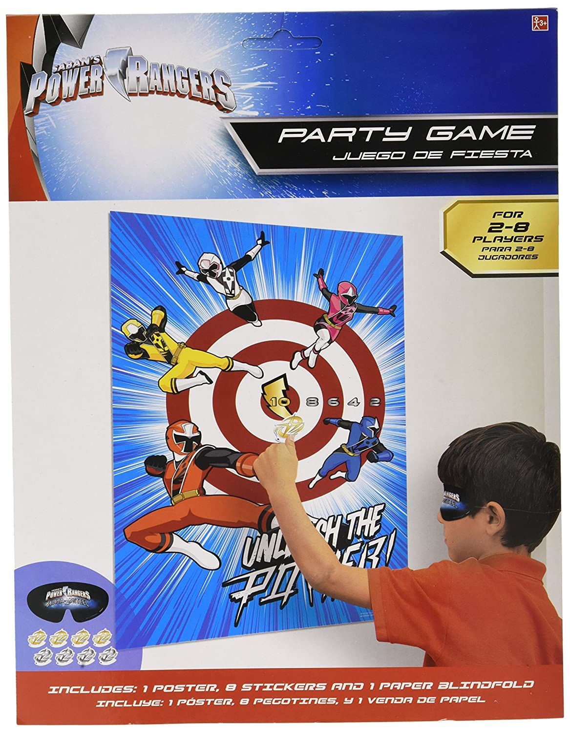 Power Rangers Ninja Steel Party Game, Party Favor