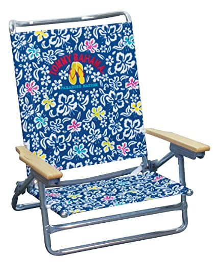 Stupendous Tommy Bahama 5 Position Classic Lay Flat Beach Chair Pabps2019 Chair Design Images Pabps2019Com