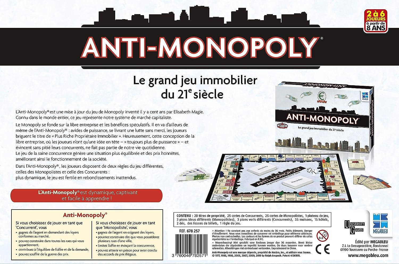 Megableu - Juego de Bandeja antimonopolio 678257: Amazon.es: Juguetes y juegos