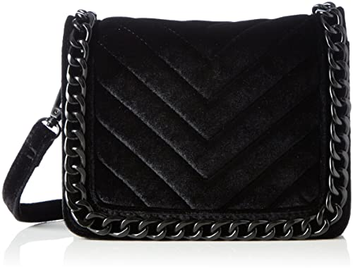 346b05d0c92 Aldo Womens Calubura Cross-Body Bag Black (Black Velvet): Amazon.co ...