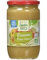 Jardin Bio Dessert Biofruits Pomme Poire Wlliam's 680 g - Lot de 3