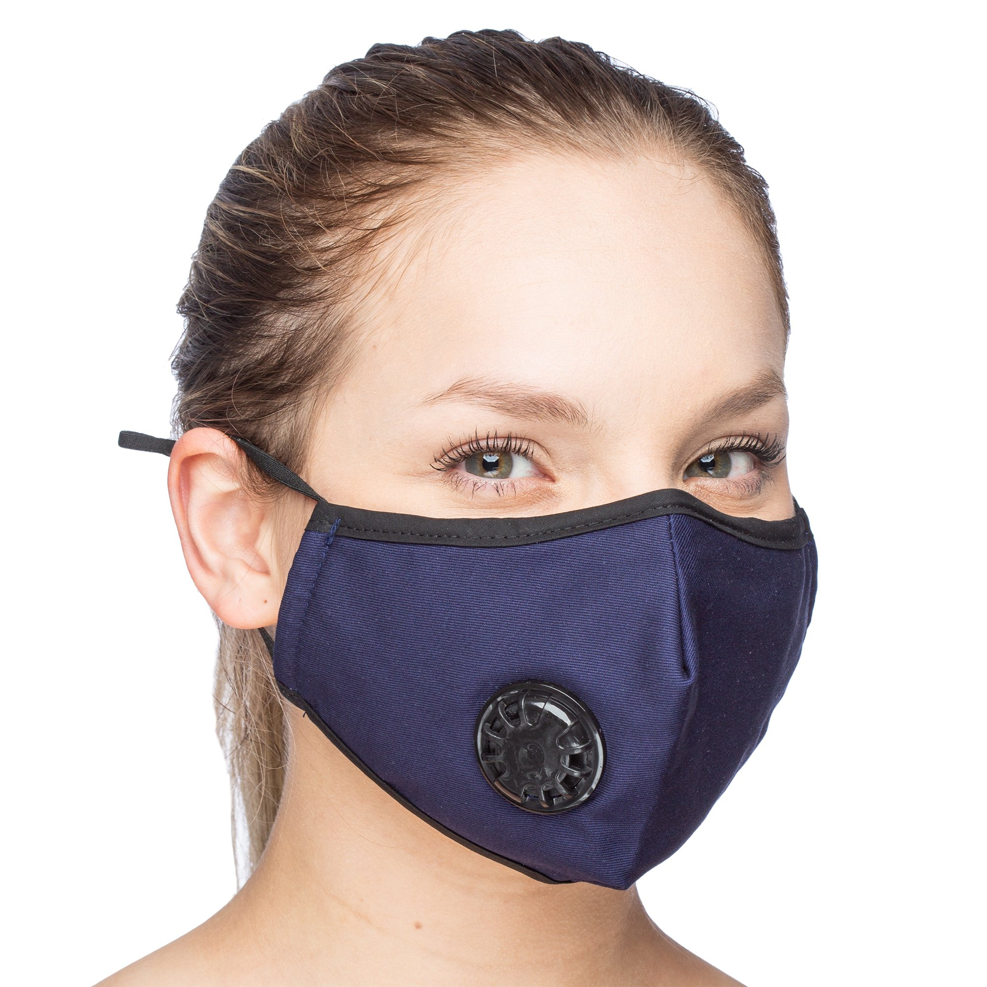 Debrief Me Military Grade N99 (4 Masks) Carbon Activated Anti Dust Face Mouth Cover Mask Respirator-Dustproof Anti-bacterial Washable -Reusable Respirator Comfy-Cotton(N99-4Color) by Debrief Me (Image #4)