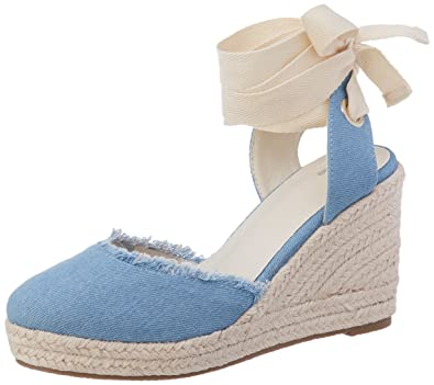 3922e246b2f6 Pimkie Women s CRS18 JEANBALLPAILLE Closed Toe Sandals