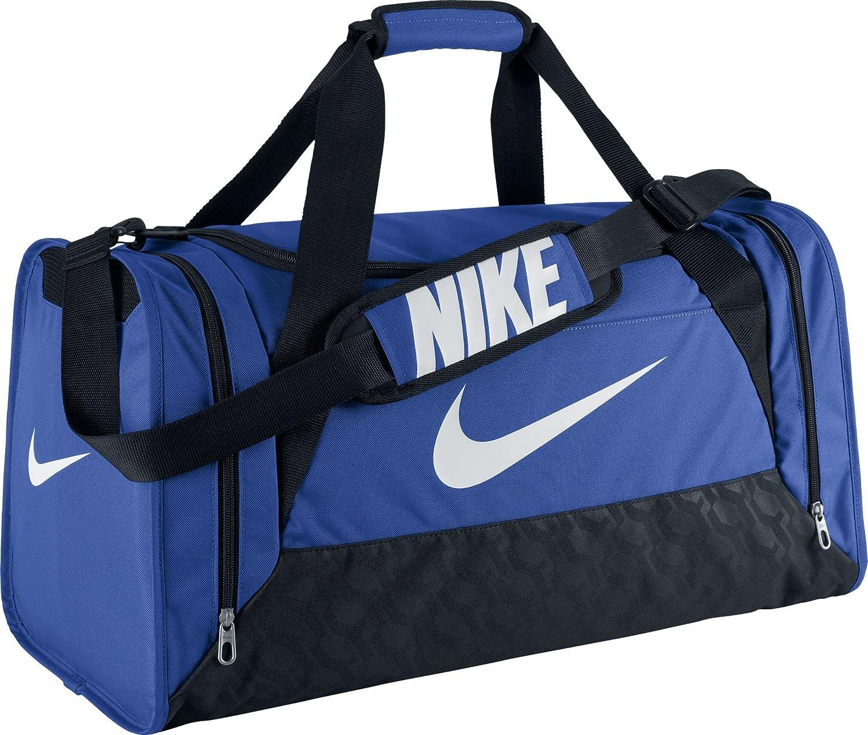 f2410973d1 Nike Brasilia 6 Medium Duffel, Borsone da calcio, Blu (Midnight  Navy/Black/White), 61 x 30 x 31 cm: Amazon.it: Sport e tempo libero