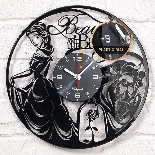 Vinyra Vinyl Wall Clock Compatible