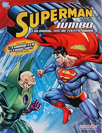 Buy 1 Superman Coloring And Activity Book 1 Online At Low Prices In India Amazon In