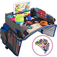 Kids Travel Tray - a Car Seat Tray - Travel Lap Desk Accessory for Your Child's Rides and Flights - it's a Collapsible…