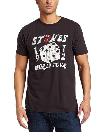 Bravado Men's The Rolling Stones 1972 Dice Tour T-Shirt