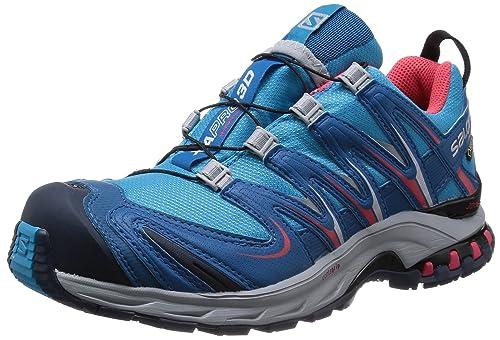 SalomonXA Pro 3D GTX - Zapatillas de Trekking y Senderismo de Media caña Mujer: Amazon.es: Zapatos y complementos