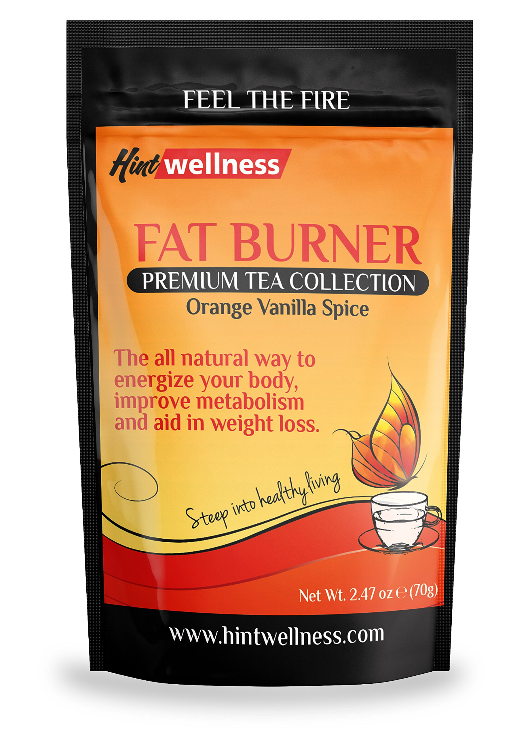 Energy Tea Blend - Used As A Natural Fat Burner By Increasing Metabolism