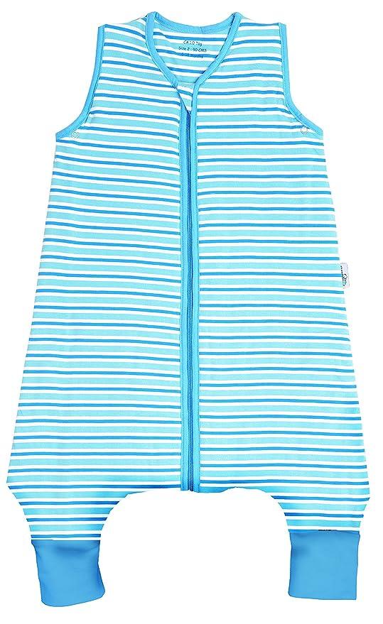 Slumbersac – Saco de dormir de invierno con rayas para pies aprox. 3,5