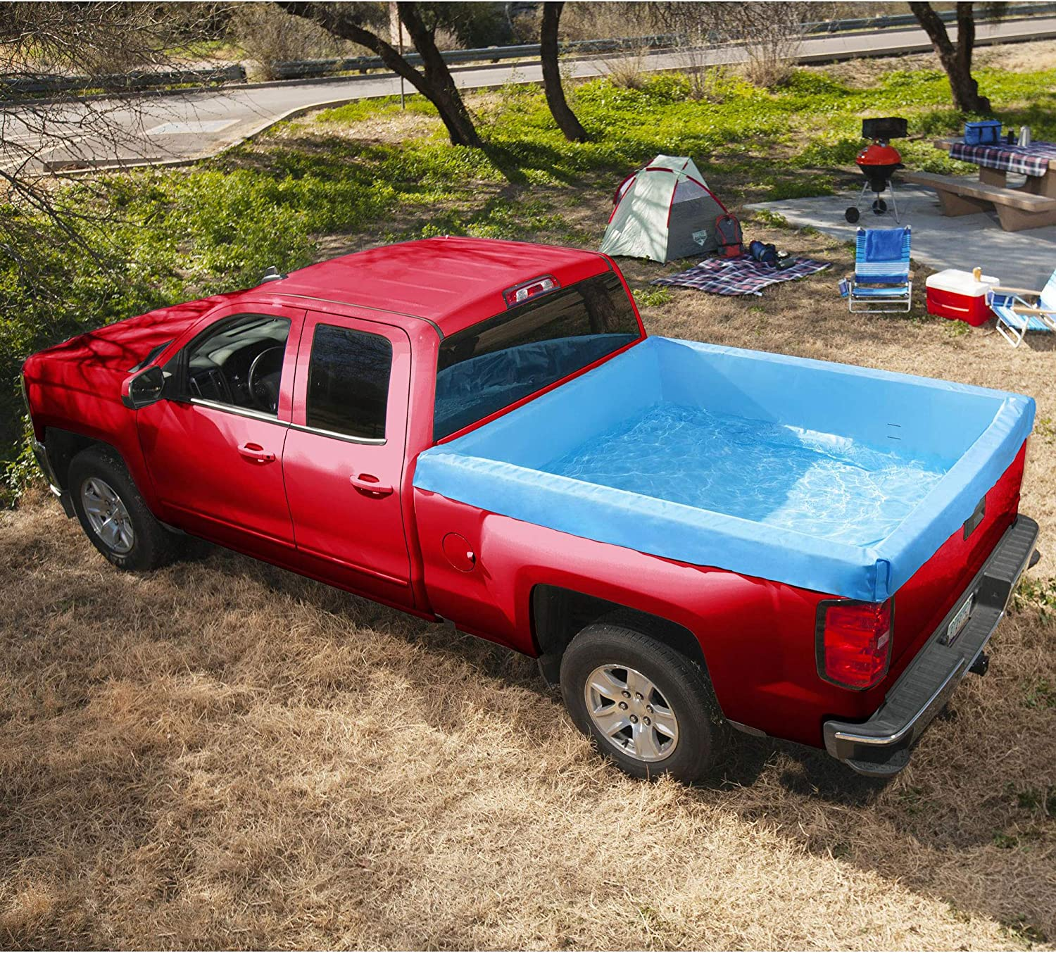 Gard Summer Waves Inflatable Truck Bed Pool 66x62x21