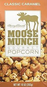Harry & David Moose Munch Gourmet Popcorn Classic Caramel 10 oz Package