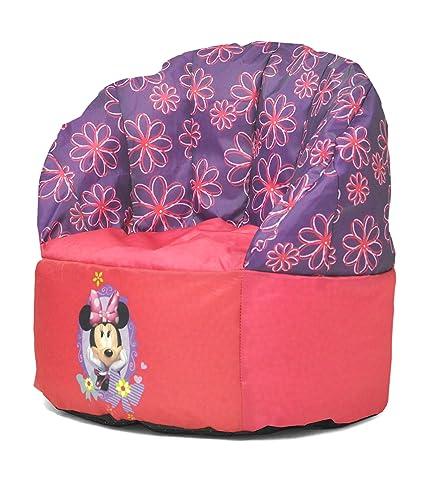 Awe Inspiring Disney Toddler Minnie Mouse Bean Bag Chair Creativecarmelina Interior Chair Design Creativecarmelinacom