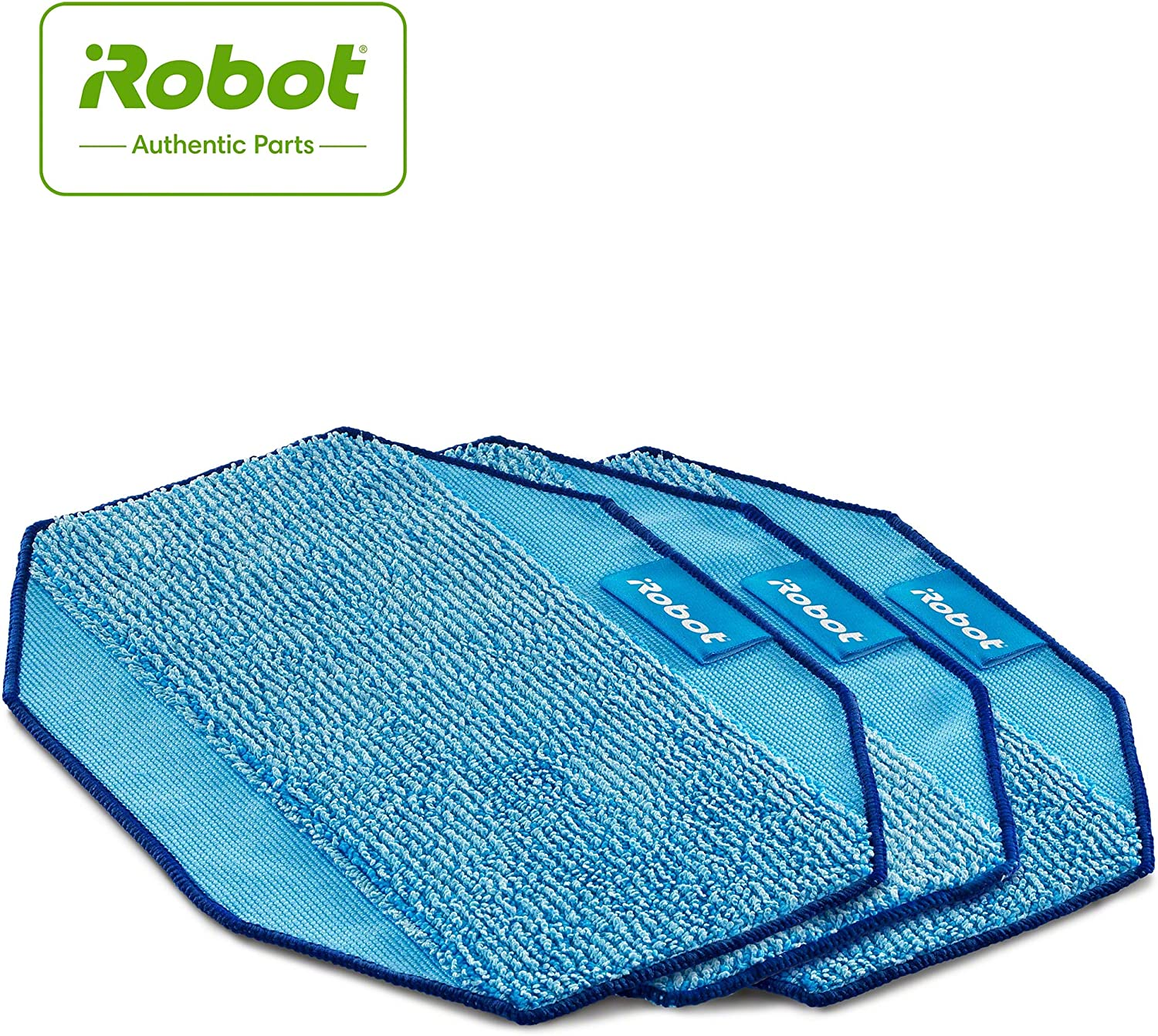 iRobot Authentic Replacement Parts- Braava 300 SeriesMicrofiber, Mopping Cloths Accessories (3-Pack)