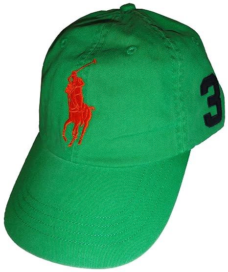 3c1ea8cdb40 Polo Ralph Lauren Men s Neon Big Pony Baseball Hat