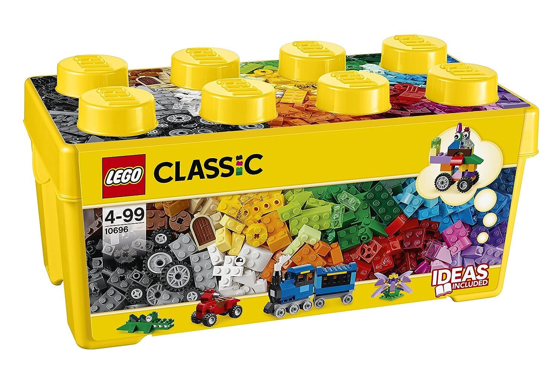 LEGO乐高 CLASSIC 基础系列 创意拼砌桶 10696