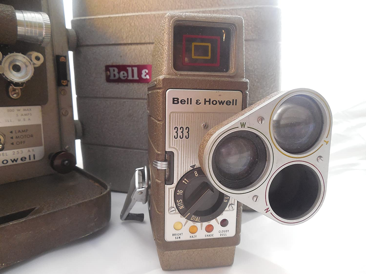 Amazon com: Bell & Howell 253 AX 8mm Home Movie Film