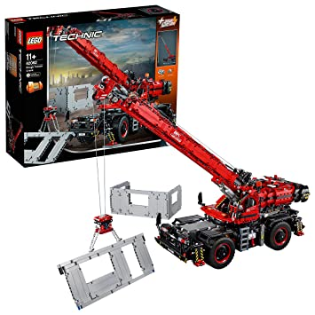 Lego Technic Rough Terrain Crane 42082 Playset Toy Amazoncomau