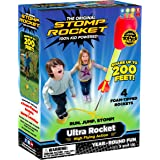 Stomp Rocket The Original Ultra Rocket Launcher, 4 Rockets and Toy Air Rocket Launcher - Outdoor Rocket STEM Gift for Boys an