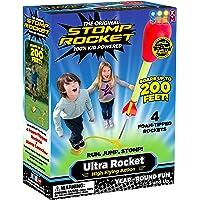 Stomp Rocket The Original Ultra Rocket Launcher, 4 Rockets and Toy Air Rocket Launcher - Outdoor Rocket STEM Gift for…