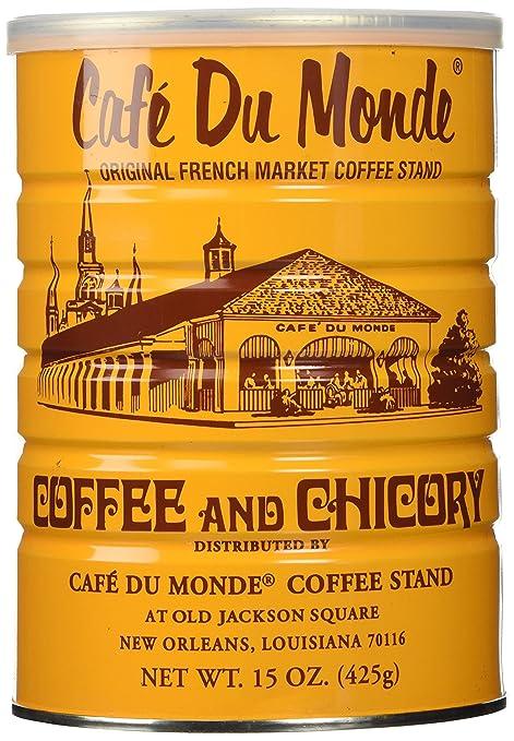Một nửa cô đơn Dozen (6 lon) của Cà phê Du Monde - 15 oz.  cô đơn