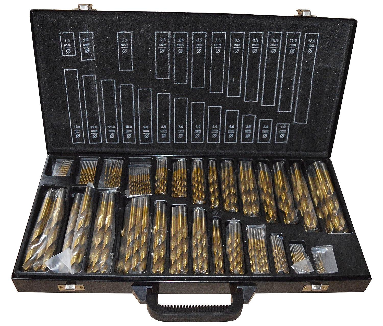 gartler PD de 01903 Juego de brocas 230 piezas, 1 –  13 mm 1-13mm PD-01903
