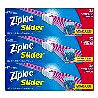 Deals on Ziploc Gallon Slider Storage Bags, 96 Count