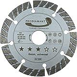 Disco de corte diamante hormigón / universal Turbo - 115 x 22,23 mm