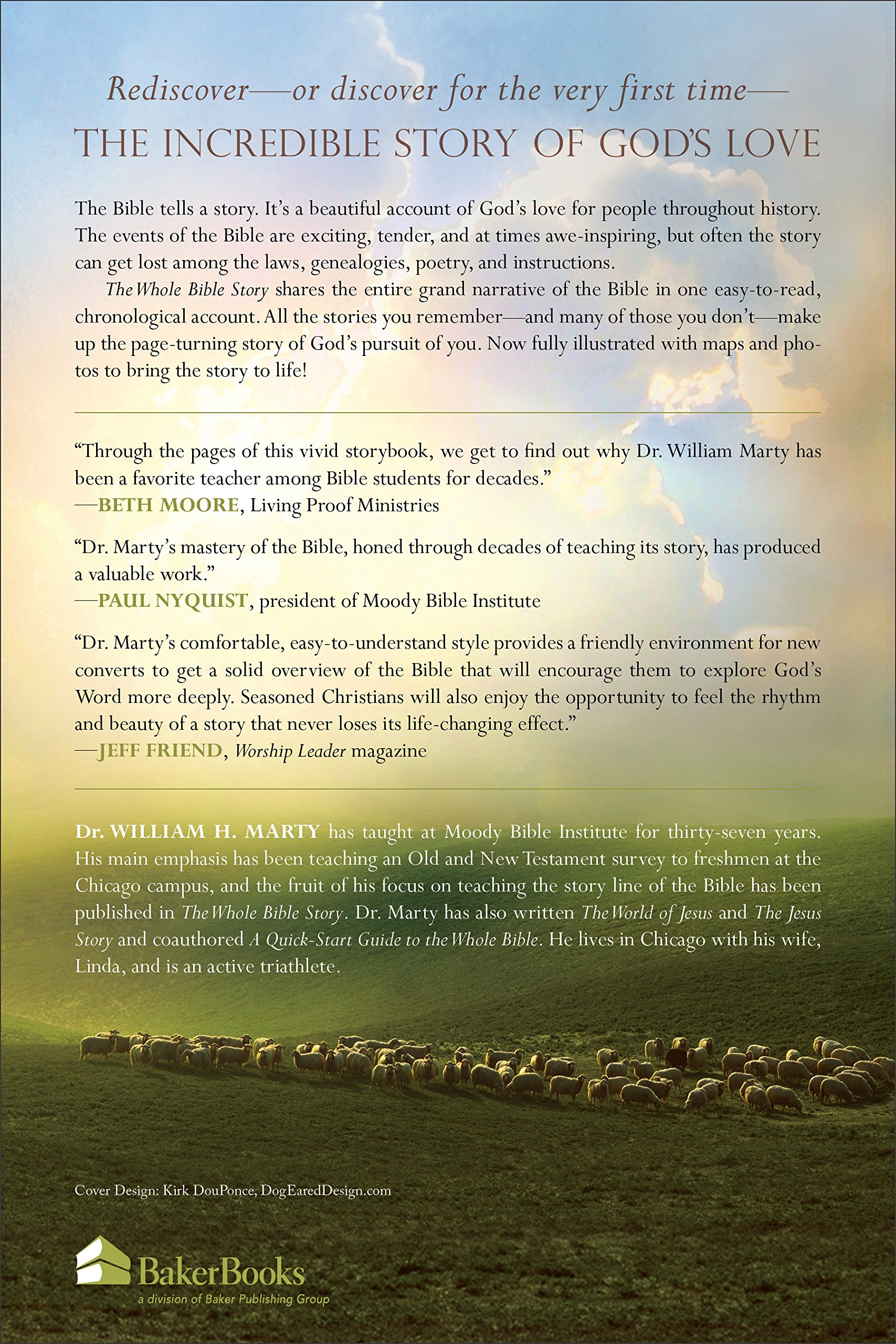 The Whole Bible Story: Everything That Happens in the Bible in Plain  English: Dr. William H. Marty: 9780801098642: Amazon.com: Books