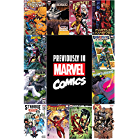 Previously In Marvel Comics Recap Guide #1 (Marvel Previews) (English Edition)