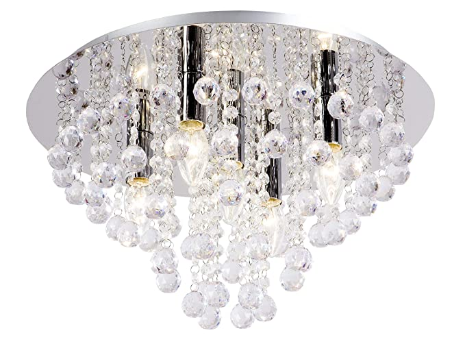 Moderne Lampen 94 : Nino leuchten deckenleuchte london durchmesser: 46 cm chrom