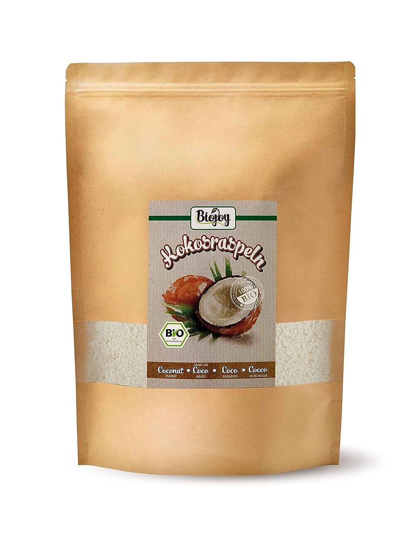 Biojoy Coco rallado ecologico, sin azúcar y sin tostar, rallado ...