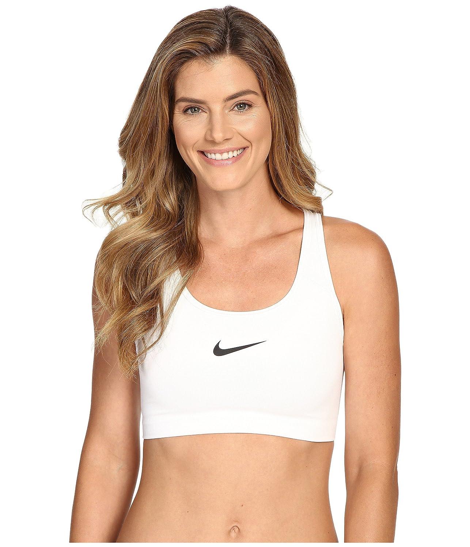 [ナイキ]Nike Pro Classic Swoosh Bra スポーツブラ [並行輸入品] B00278ZTBS Small|WHITE/BLACK WHITE/BLACK Small