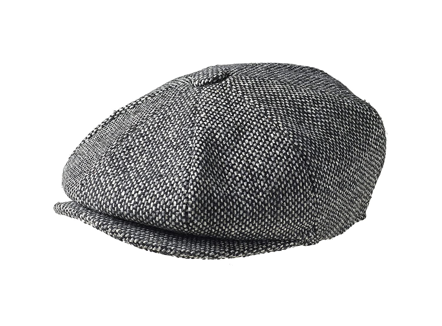 e1dedcb58a1 Peaky Blinders 8 Piece  Newsboy  Style Flat Cap -100% Wool Fabric  Variations  Amazon.co.uk  Clothing