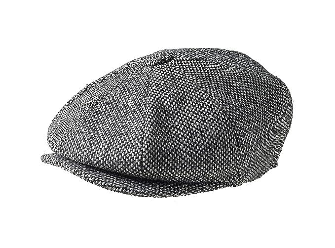 Peaky Blinders Men s 8 Piece  Newsboy  Style Flat Cap Wool at Amazon ... 87839ac49cba