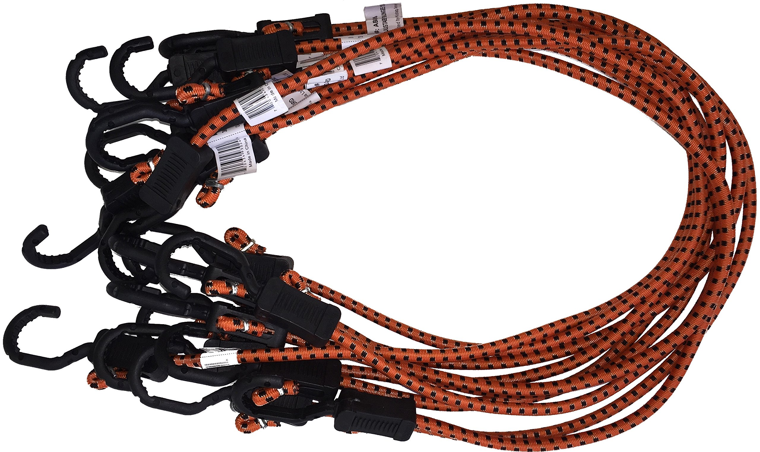 Kotap Adjustable 36-Inch Bungee Cords, 10-Piece, Item: MABC-36