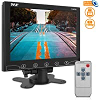 10-Inch Security Camera Monitor Screen - 1080p HD Widescreen Video Monitor Display w/HDMI RCA BNC VGA Input for Computer…