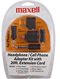 Maxell Hp21 Headphone and Cell Adapter Kit (190398)