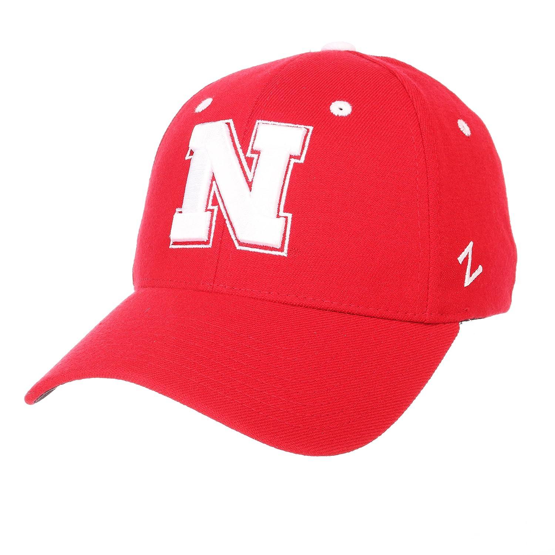 ZephyrメンズネブラスカCornhuskers ZH Zwoolストレッチフィット帽子 Small  B01N0F6ZFI