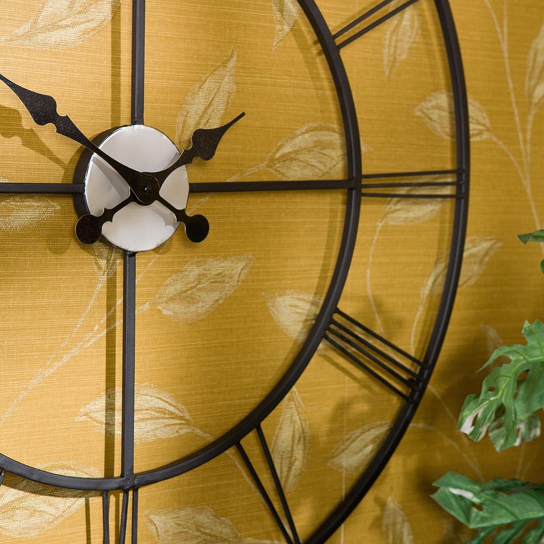 Amazon.com: Southern Enterprises Centurian Decorative Wall Clock ...