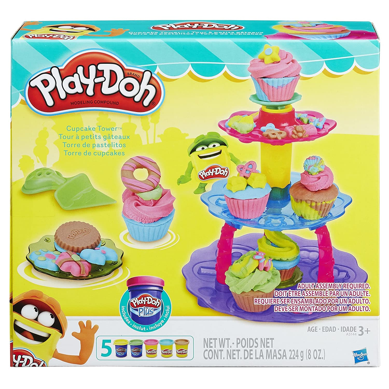 Amazon.com: Play-Doh Sweet Shoppe Cupcake Tower: Toys & Games
