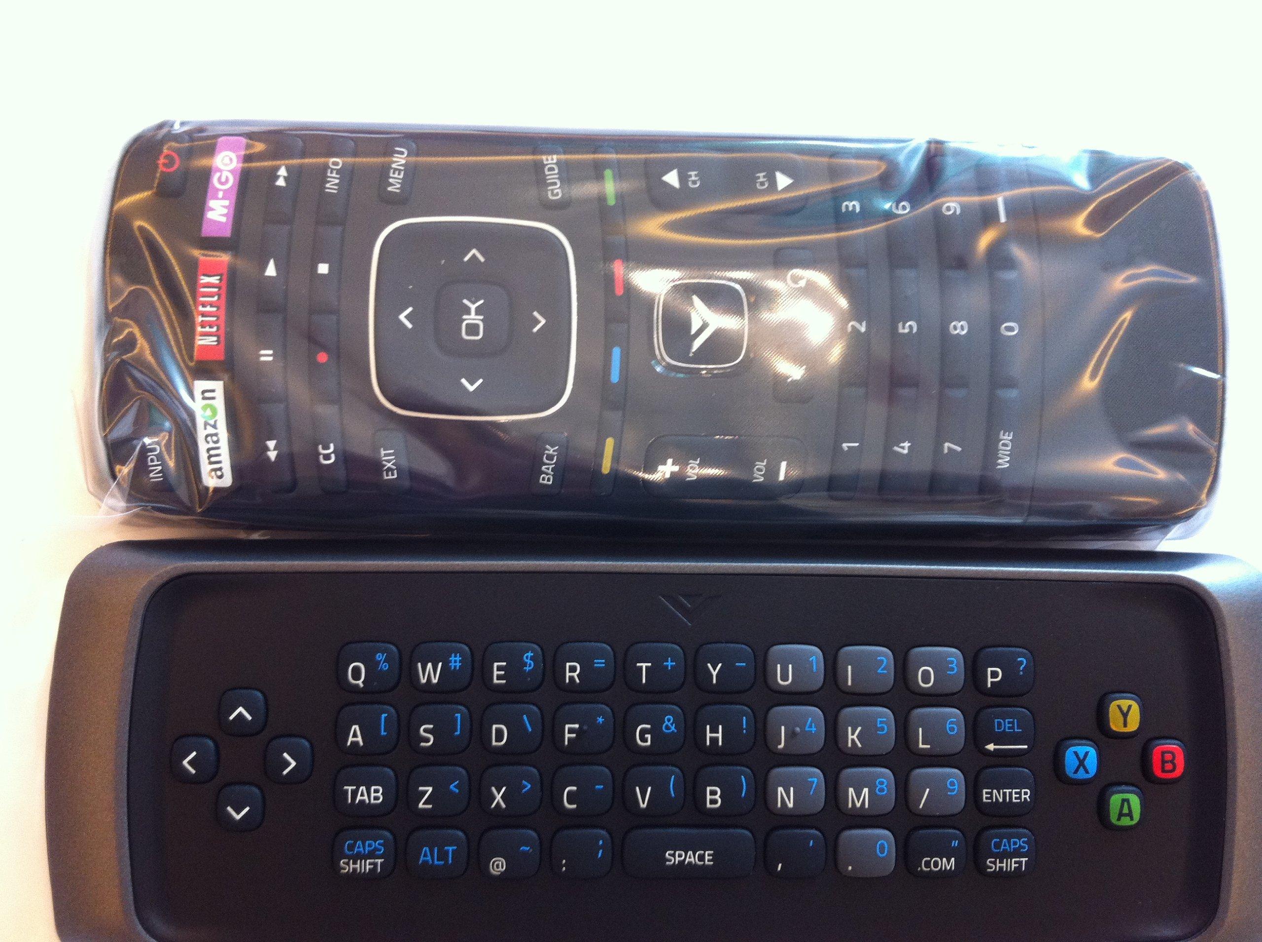 New Smart TV keyboard remote XRT302 for VIZIO E420i-A0 E500i-A0 E470I-A0 E502AR TV---30 days warranty