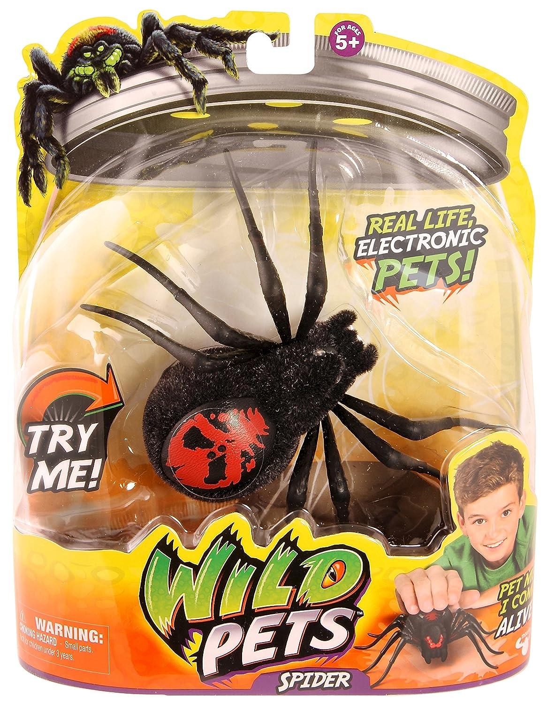 WILD PETS - Ragno giocattolo, colori assortiti Character Options 29001