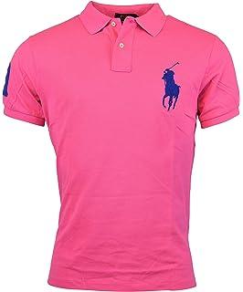 Polo Ralph Lauren Mens Polo Custom Fit Big Pony Mesh Shirt